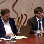 Junqueras y Puigdemont apuestan a todo o nada