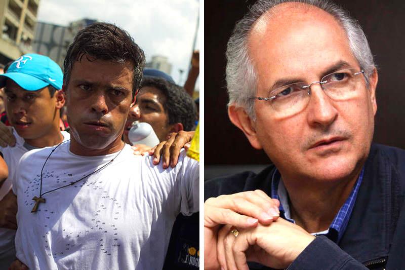 Leopoldo López y Antonio Ledezma nuevamente en Ramo Verde