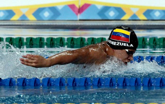 Venezuela llevó a nueve nadadores y ninguno pasó a la final
