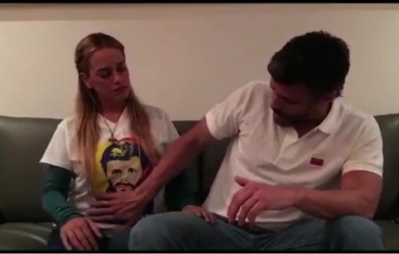 Lilian Tintori espera su tercer hijo con Leopoldo López