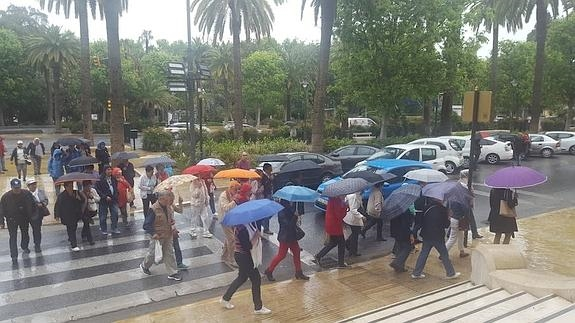 La Aemet anuncia fuertes lluvias en todo el territorio malaguense