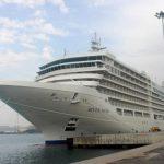 El crucero Silver Muse pisa por primera vez suelo Malagueño