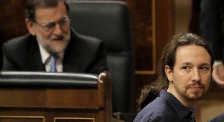 Iglesias y Rajoy