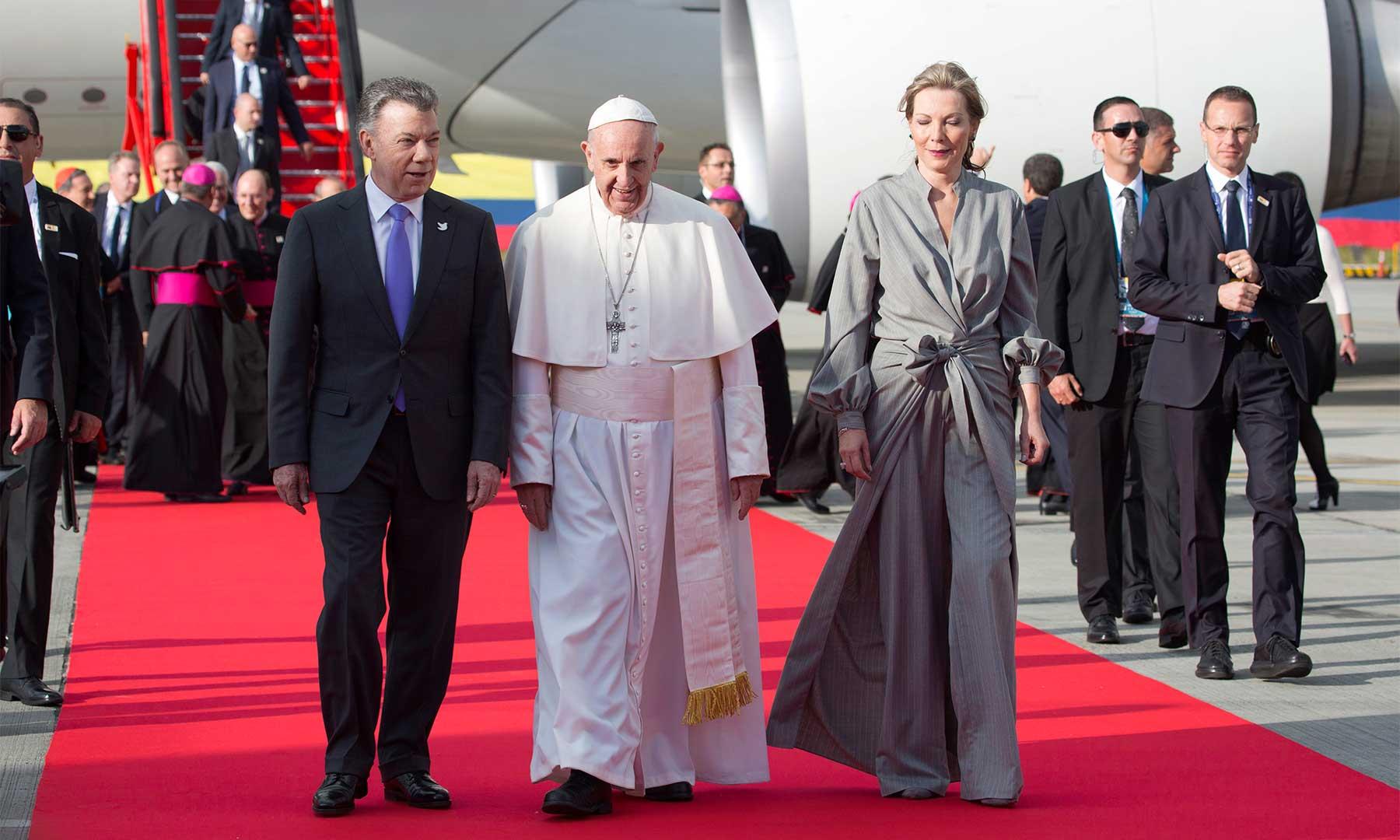 El Papa Francisco llega a Villavicencio para reconciliación