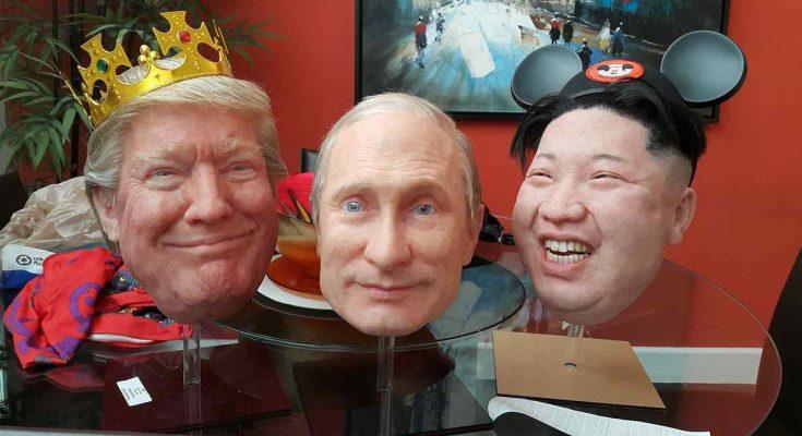 Putin, Trump y Kim Jong-Un