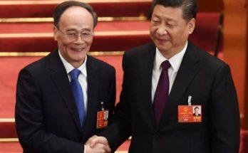 Xi Jinping y Wang Qishan