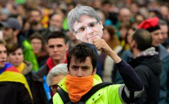 ex presidente catalán detenido en Alemania