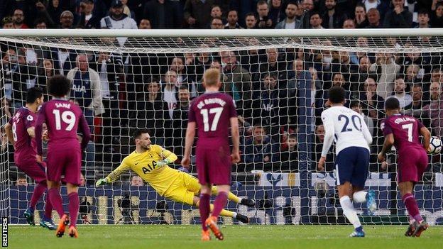 Mancheste City ganó 3 a 1 contra Tottenham Hostpur