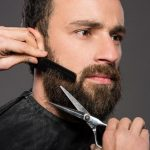 Corte en barbería