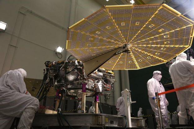 Misión InSight de la NASA se centrará en conocer actividad sísmica en Marte