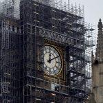 Restauración del Big Ben enfada a los turistas