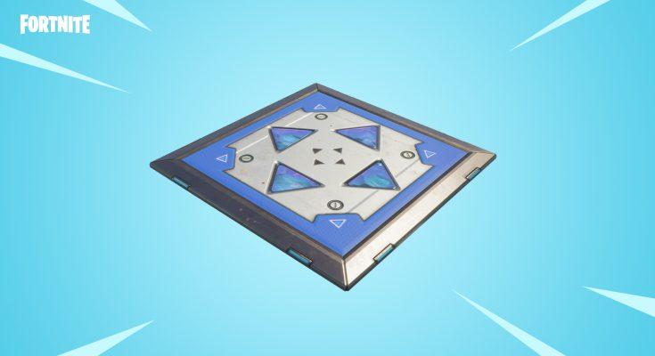 Llega nueva versión de los pads de salto a Fornite: Battle Royale
