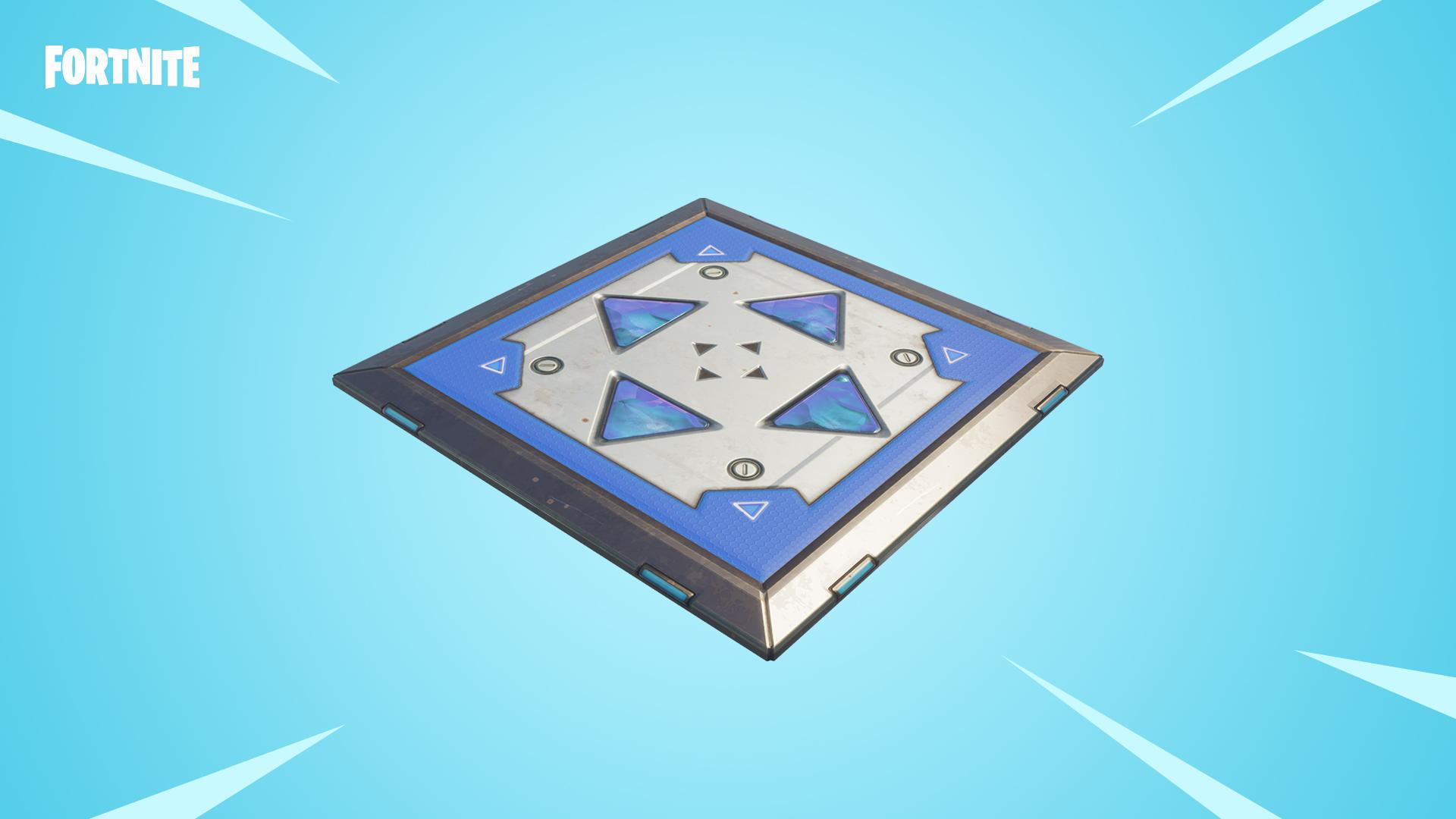 Llega nueva versión de los pads de salto a Fortnite: Battle Royale