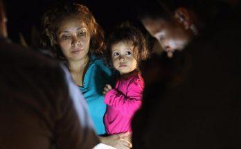 Los niños migrantes en los EE.UU. Llora por padres separados en audio
