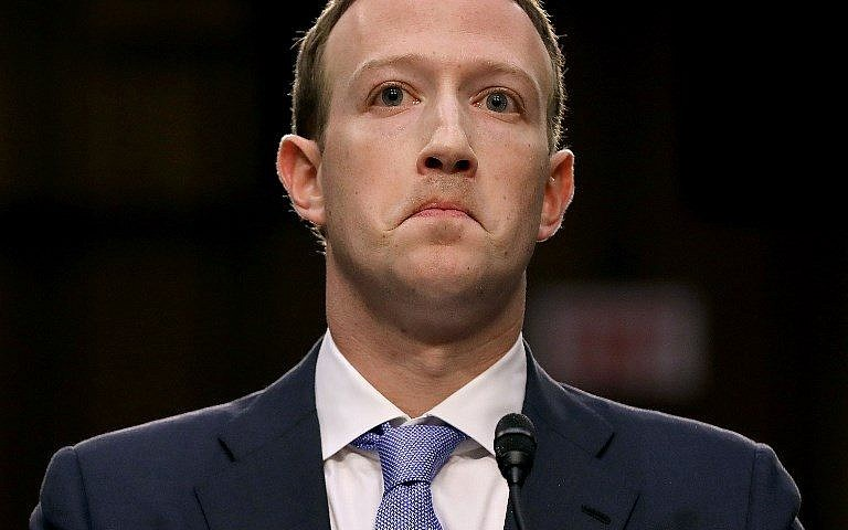 Mark Zuckerberg está en el foco
