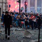 Copa del Mundo: las celebraciones en París se tornan violentas