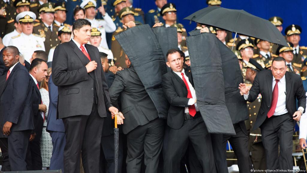 En Venezuela intentan asesinar a Maduro con un Drone, siete soldados heridos