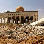 El aeropuerto abandonado de Gaza en ruinas