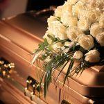 Arreglos de flores para el funeral