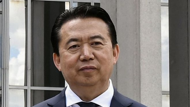 Sigue desaparecido el presidente de Interpol