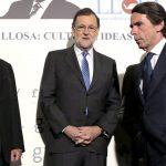 José María Aznar criticó a Mariano Rajoy por desunir al PP