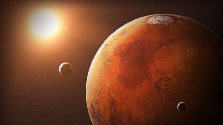 La del Conspiracion Planeta Marte Fotos con censura