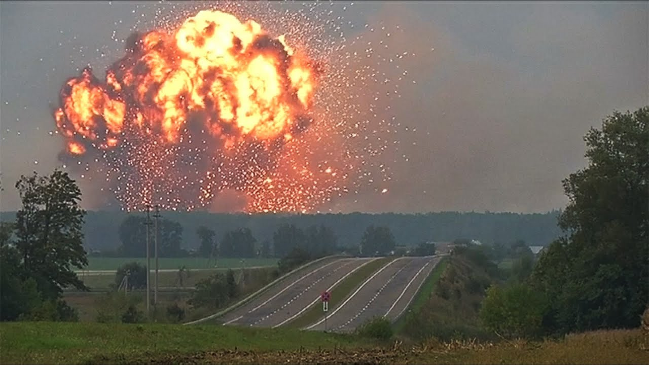 Explosiones de armamentos en Ucrania, posible sabotaje