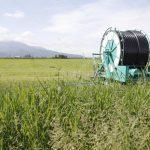 Carretes para riego agrícola
