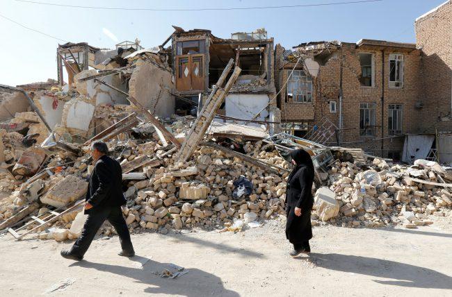Irán: más de 700 heridos en Kermanshah