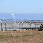 Rusia completa la valla de seguridad de Crimea
