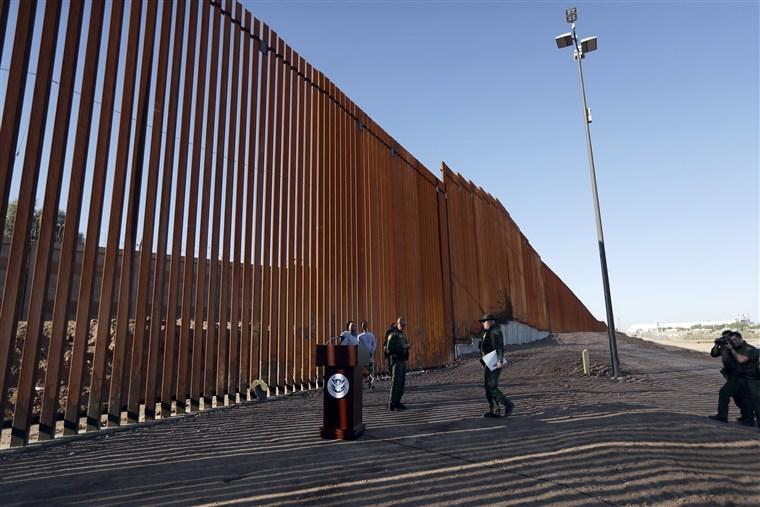 Trump pronunciará un discurso en el muro fronterizo