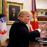 Trump habla otra vez del muro en la frontera