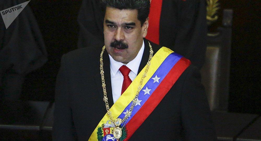 """Crisis de Venezuela: Maduro condena al """"extremista"""" Trump"""