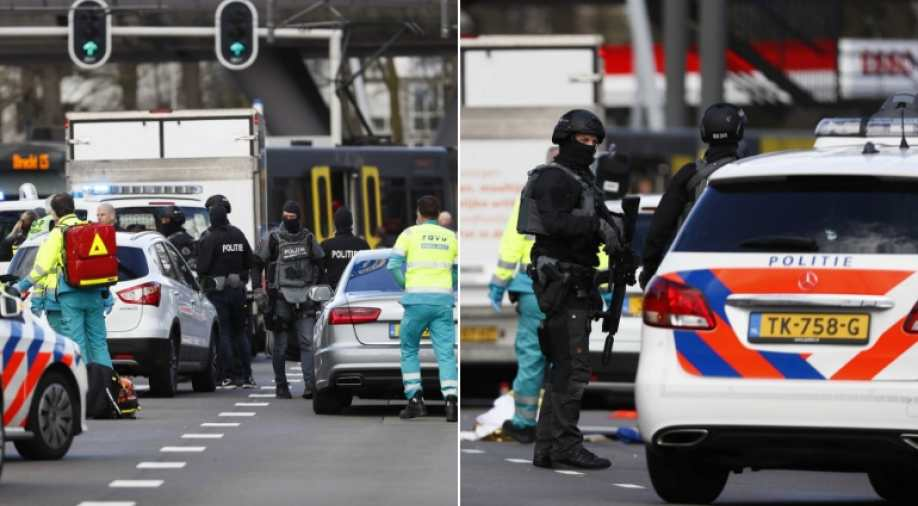 Pistolero opens fire in Utrecht tram