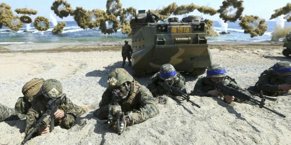 Corea del Sur y Estados Unidos finalizan juegos de guerra