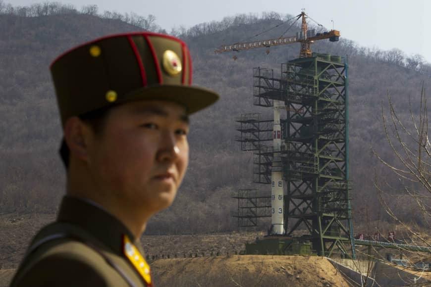 Corea del Norte reconstruye su sitio de lanzamiento de cohetes